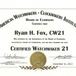 American Watchmakers Clockmakers Institute